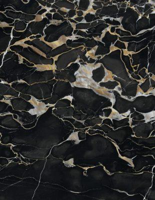 marmore importado nero portoro detalhe